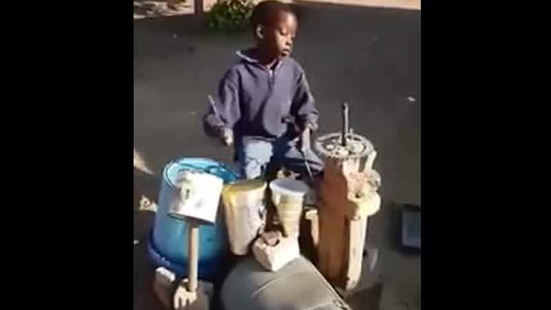 Негритенок видео