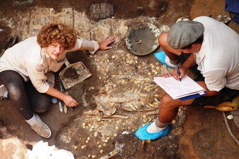 Сарматское золото - археологическая сенсация в оренбургской .