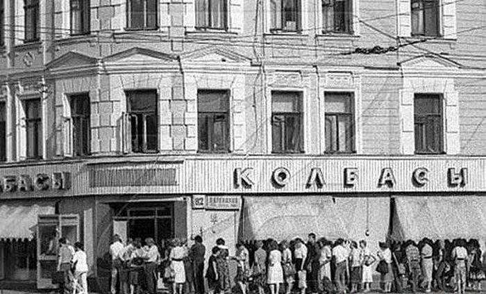 История советских колбасных изделий
