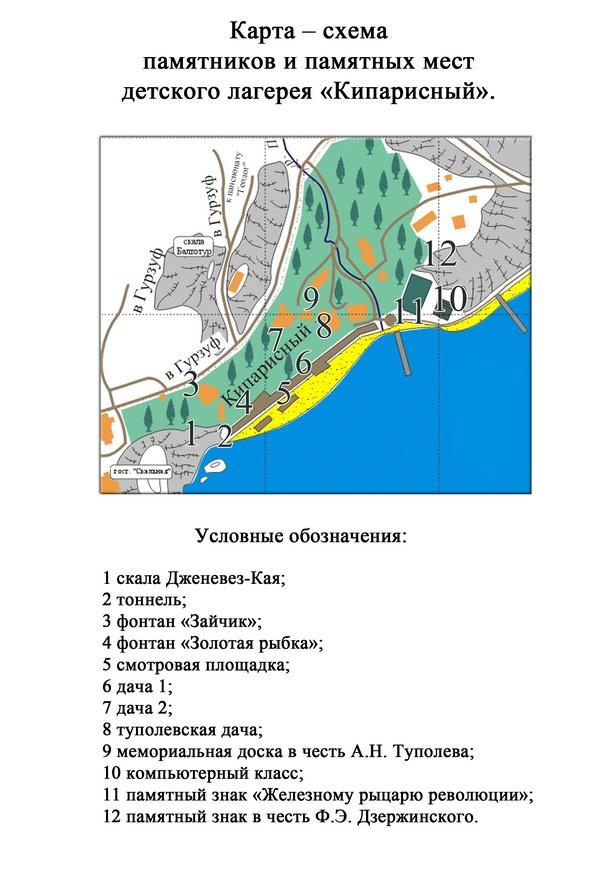 как где находится артек лагерь на карте крыма Мои