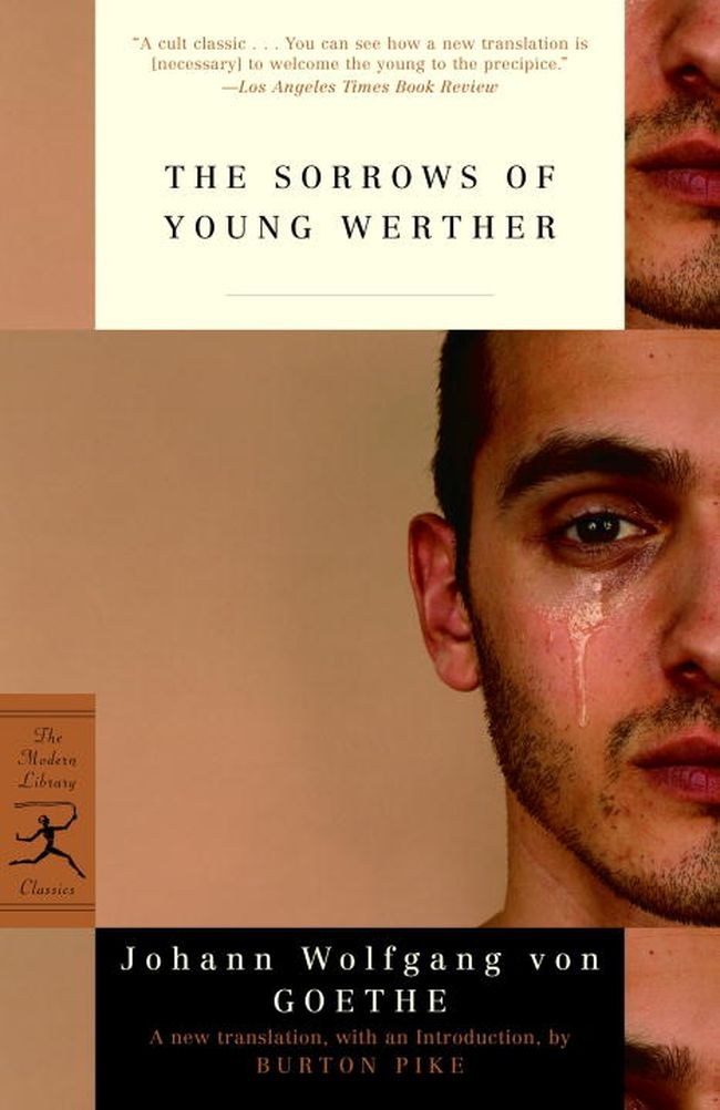 sorrows of young werther This is goethe's first novel, published in 1774 written in diary form, it tells the tale of an unhappy, passionate young man hopelessly in love with charlotte, the wife of a friend - a man who he alternately admires and detests.