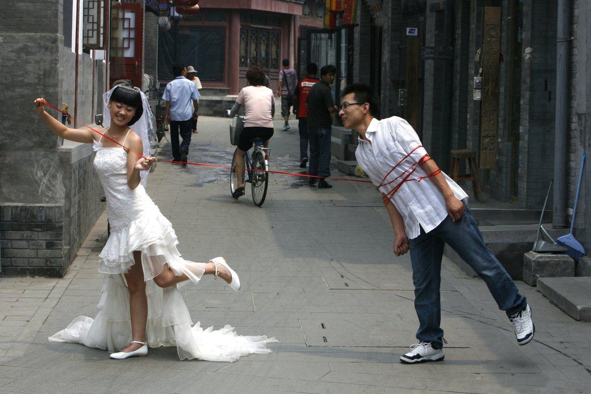 Самые необычные невесты фото