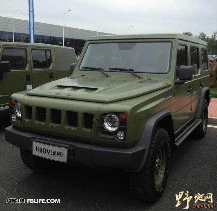 Китайский, физрук baic BJ80C «Новые модели и концепты» на drive2