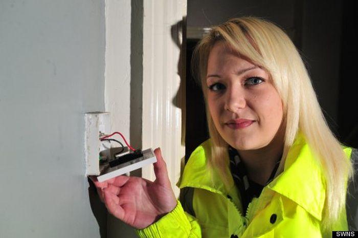 Работа электрика для девушки фото девушки для работы в фотошоп