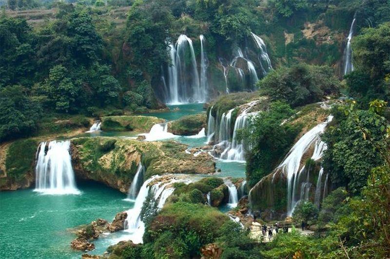 Водопады вьетнам нячанг
