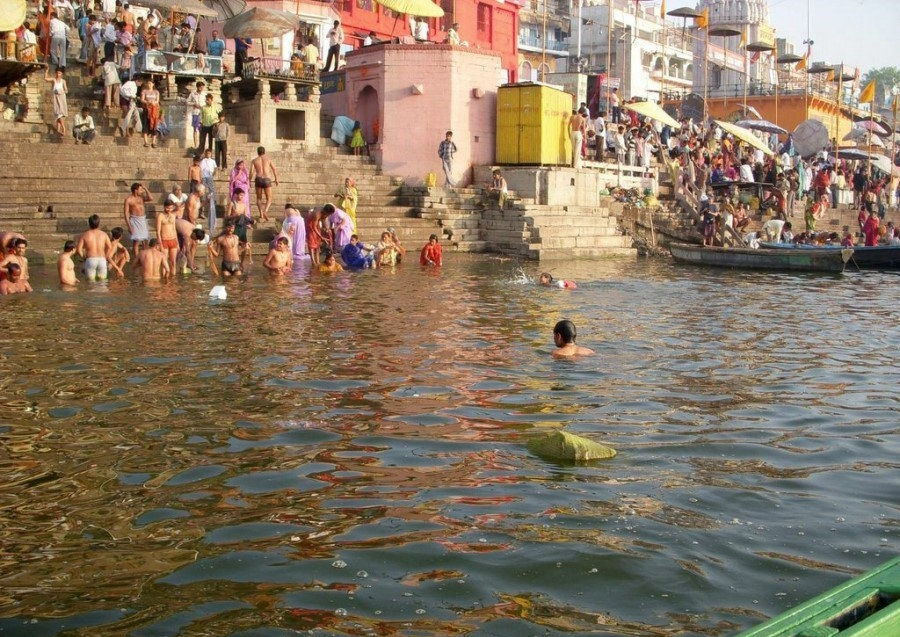 holy river ganges Ganges river: ganges river, great river of the plains of the northern indian subcontinent from time immemorial it has been the holy river of hinduism.