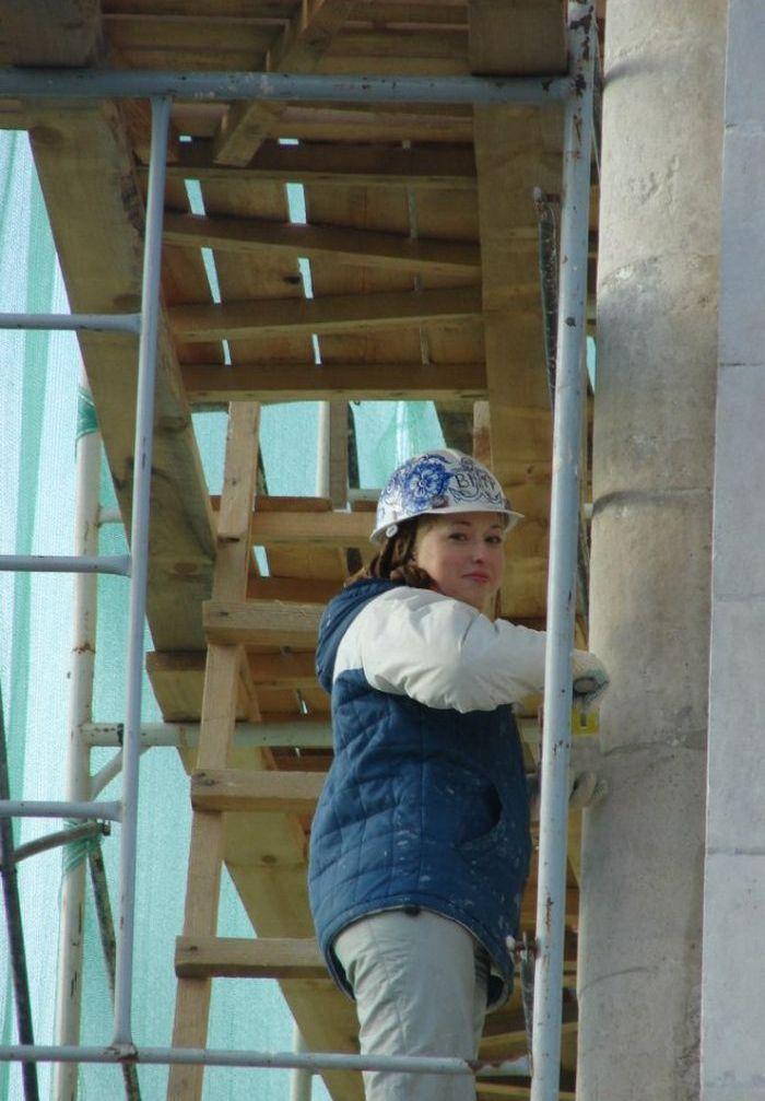 работа для девушек на стройке
