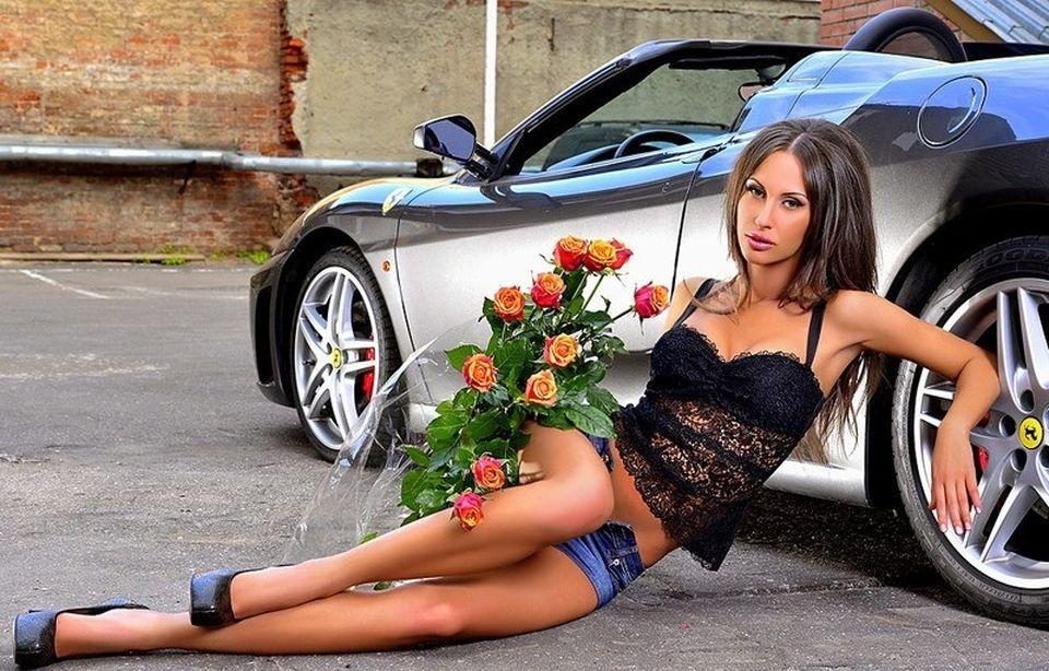 Секси девочки и авто