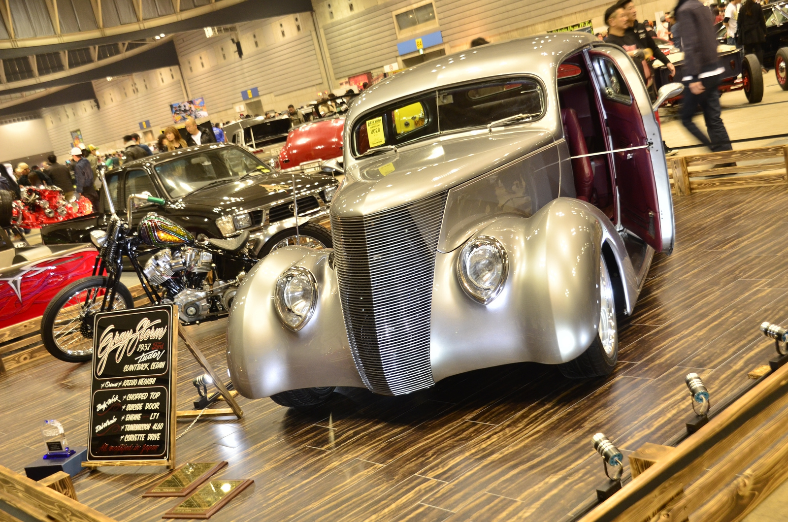 Автошоу Hot Rod Custom Show 2013 автомобили, автошоу