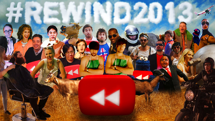 YouTube Rewind 2013 youtube, музыка, песня