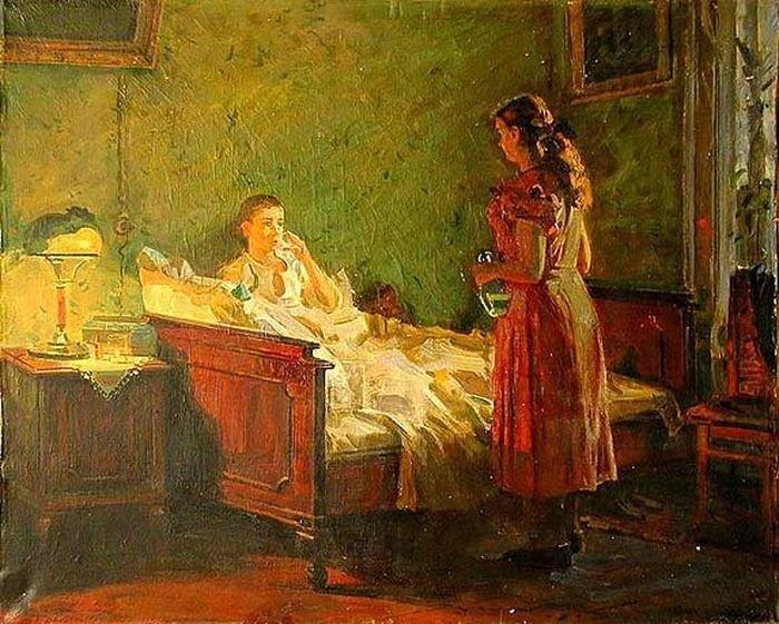 что советский быт в картинах художников васильева является одной