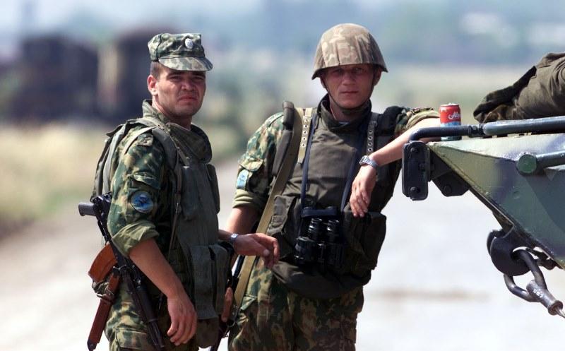 Русские солдаты большой член