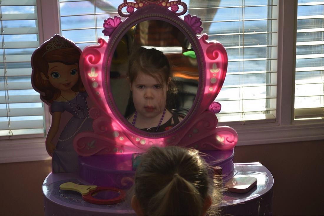 Своими, картинки с зеркалом прикольные