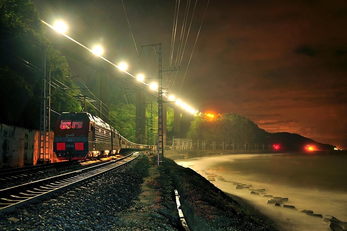 Фотографии на железнодорожную тематику