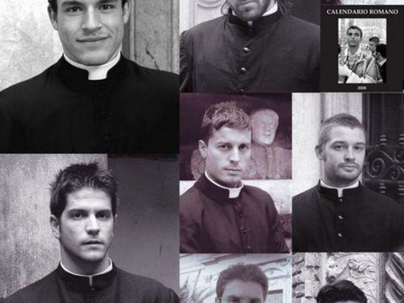 Календарь со свещенниками рим