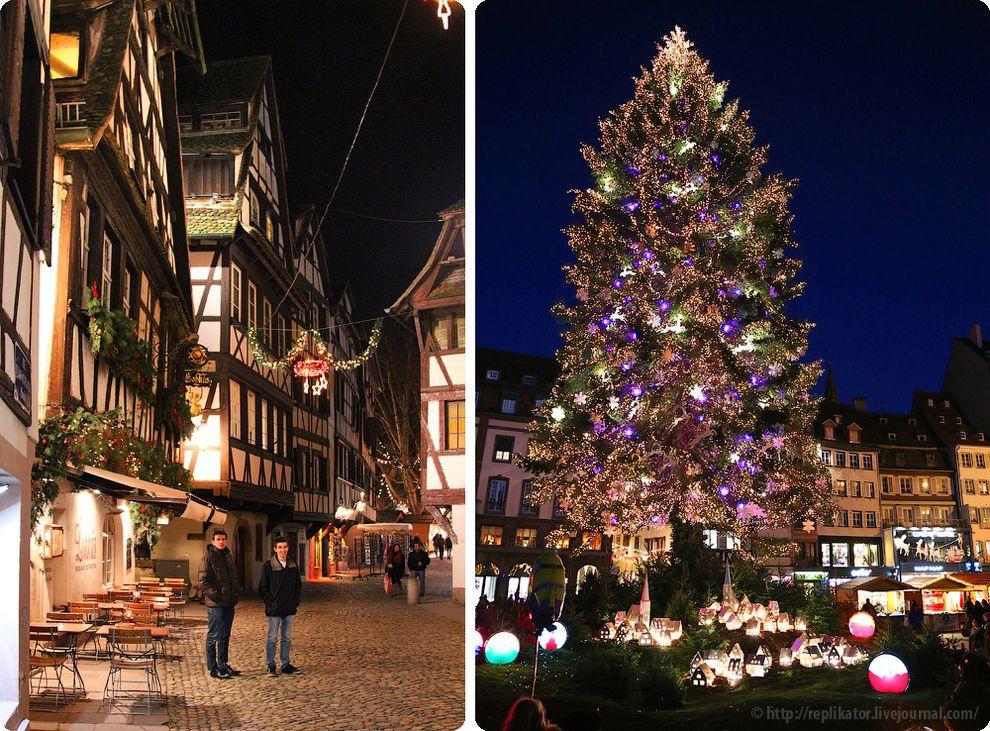 рождество в страсбурге фото натяжного материала позволяет
