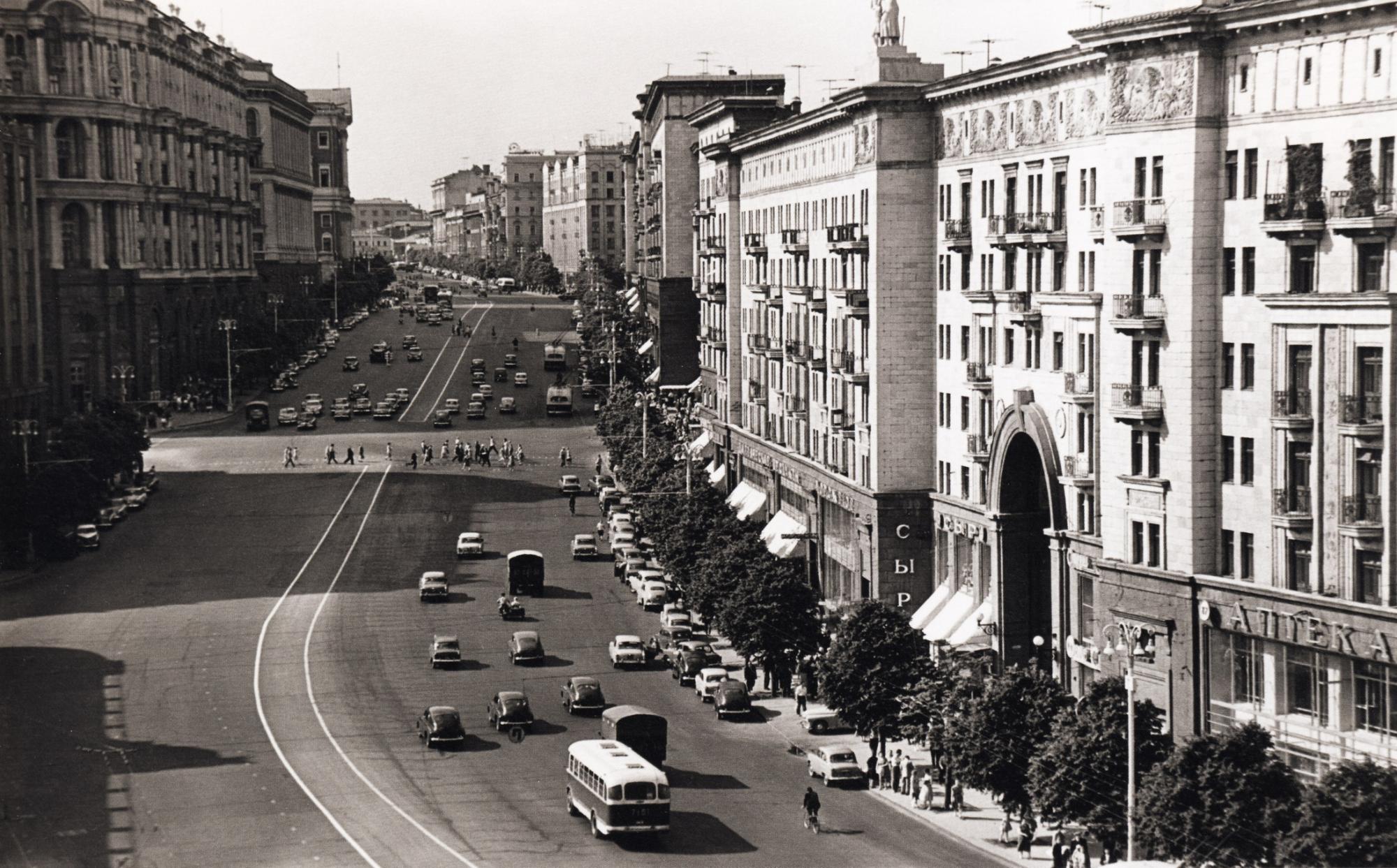одно старые фото улиц москвы соцсетях