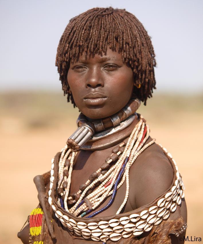 Негритьянки из африканского племени