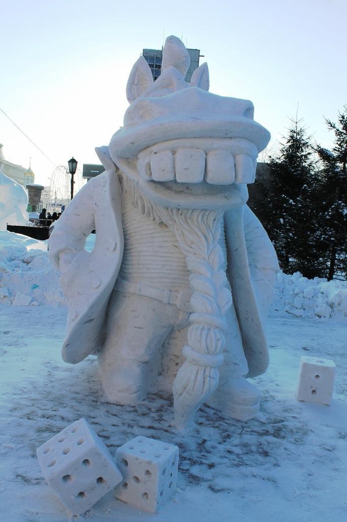 форма представления снежные скульптуры своими руками фото мгновенно могут