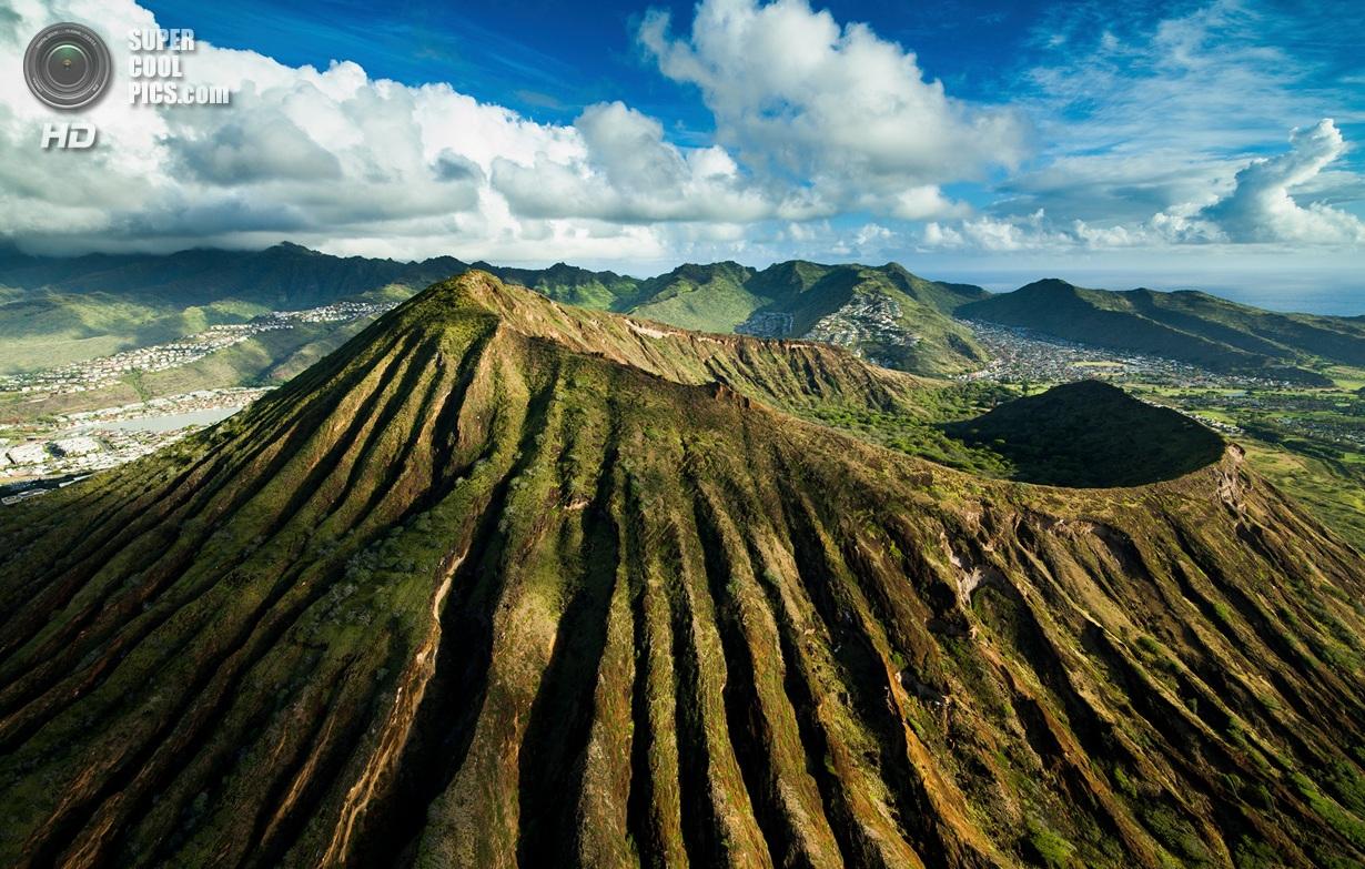 Гавайи с высоты птичьего полёта
