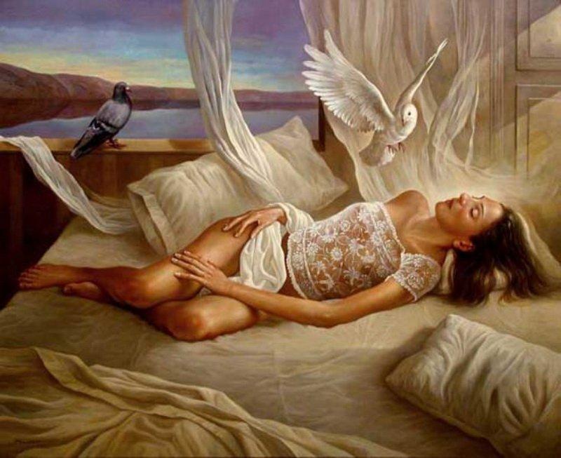 работ толкование снов на картинке ангел просто-напросто