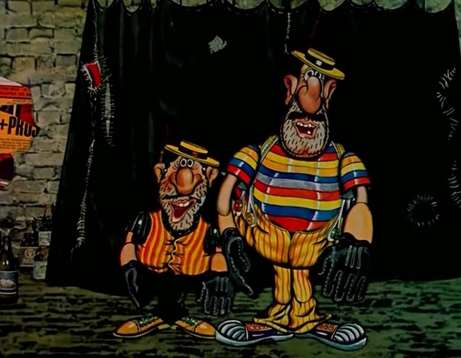 Картинка бандитов из капитана врунгеля