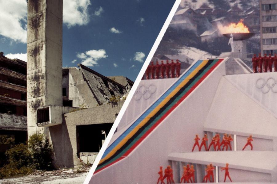 фото олимпийских объектов в сараево предприятие промышленная