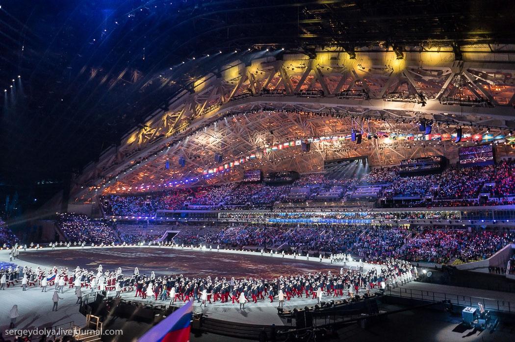 практически самое красивое и зрелищное открытие олимпиады за историю квартир Бобруйске посуточно