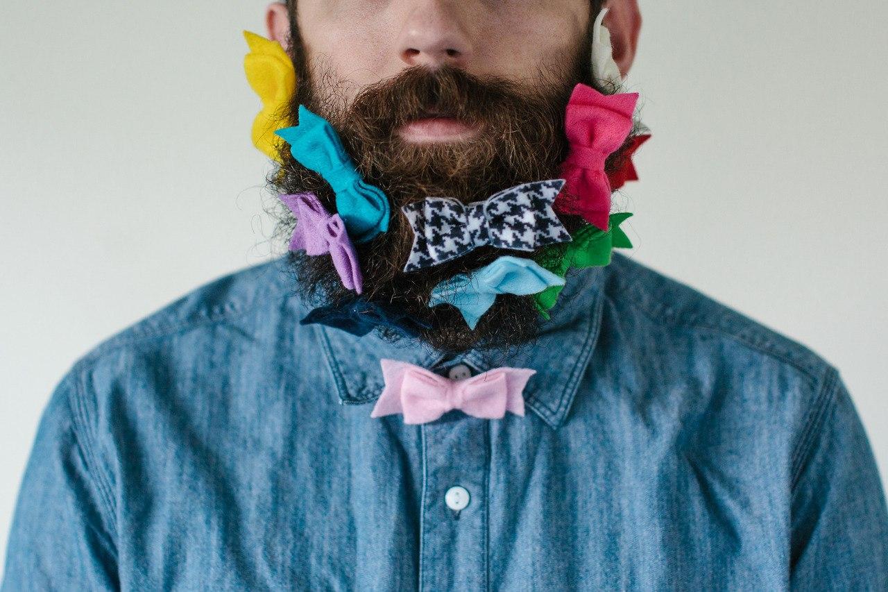 Открытка бородатому мужчине