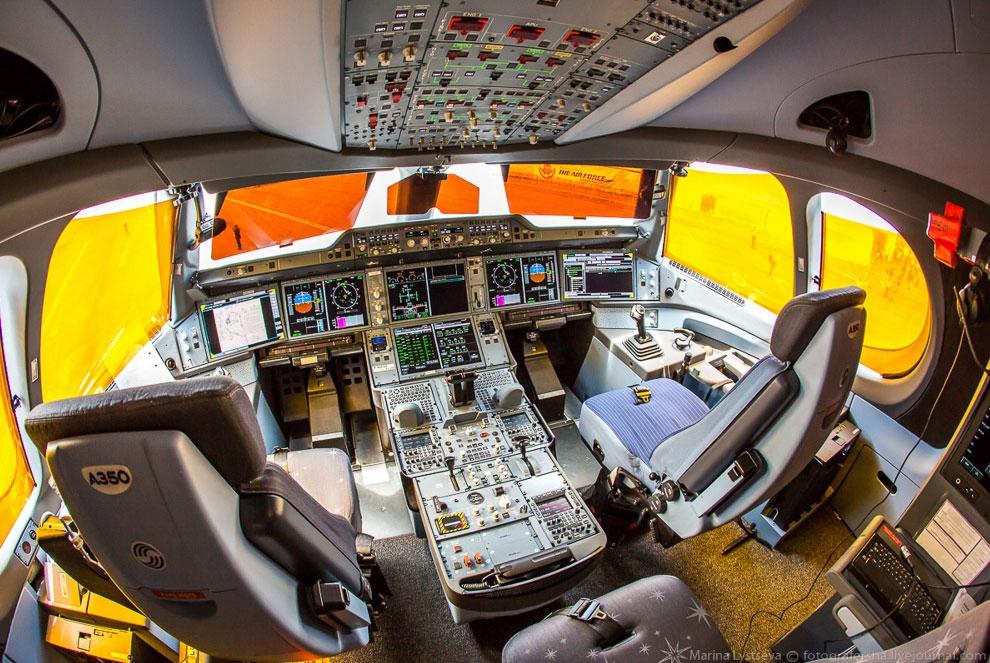 как выглядит самолет внутри фото украшения позволяют