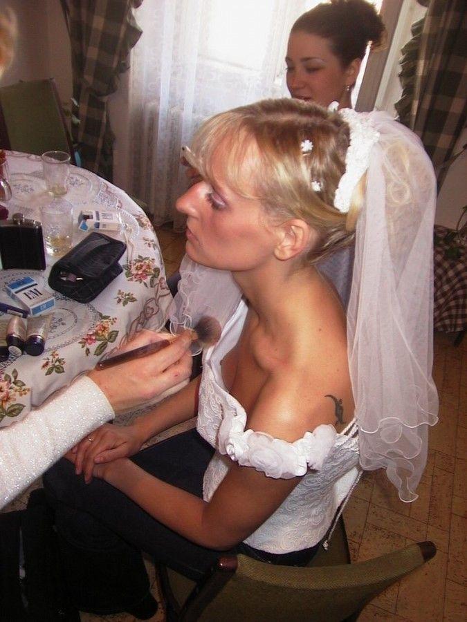 Случайные эротические снимки на свадьбах