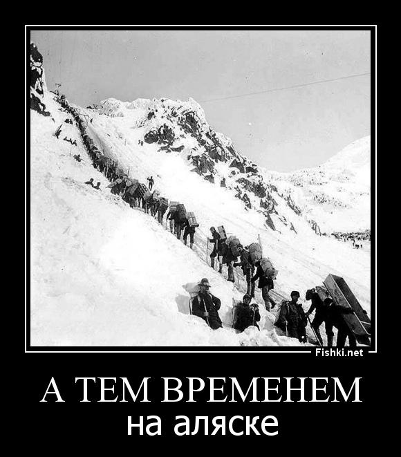 демотиваторы аляска наша