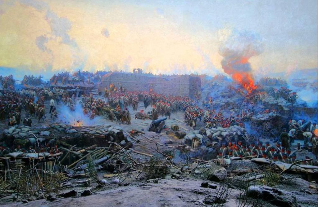 Оборона севастополя крымская война картинки