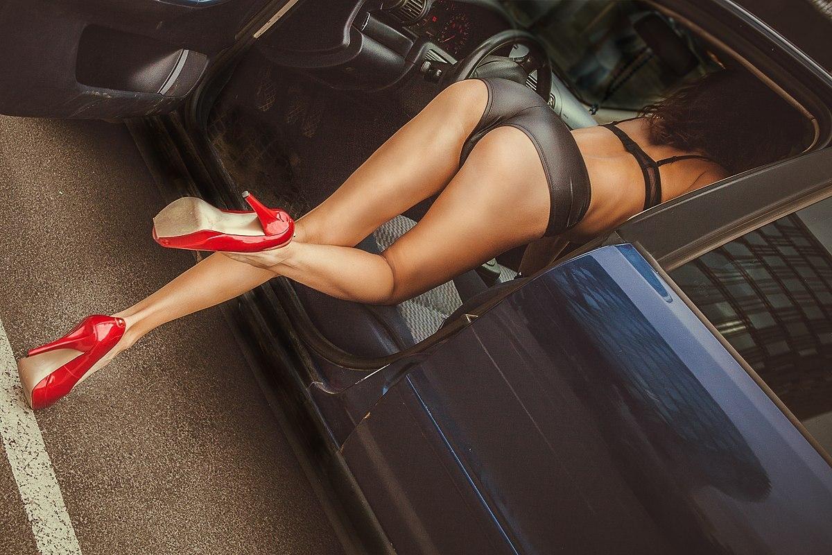 ноги девушки и авто фото мальчикам