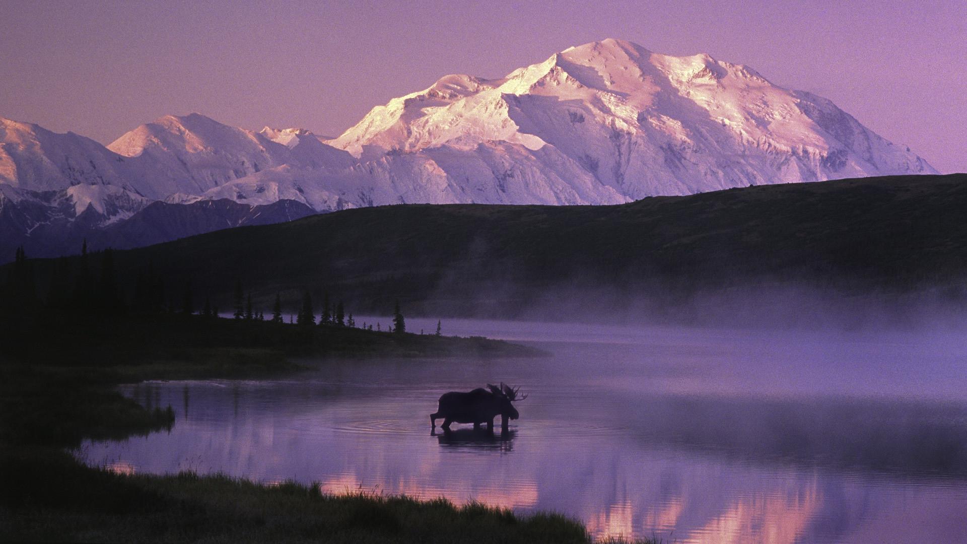 Аляска фото закат
