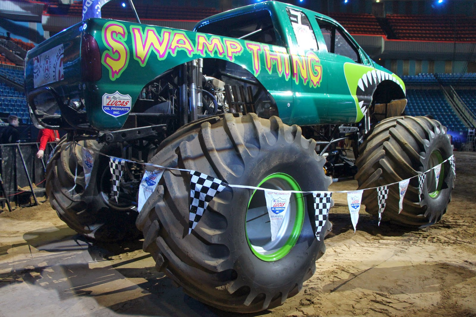 Monster Mania 2014 Гиганские машины 2014, Monster Mania, full-scale monster truck, бигфут, монстер трак