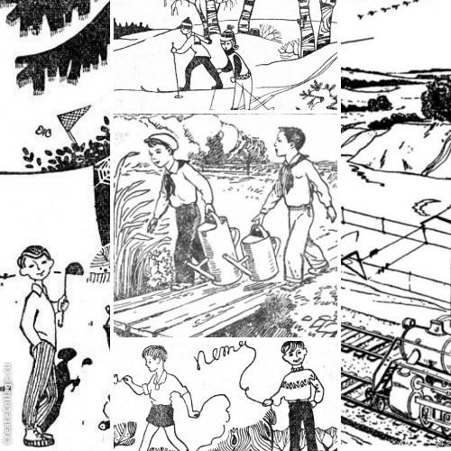 Советские головоломки в картинках, городе тула