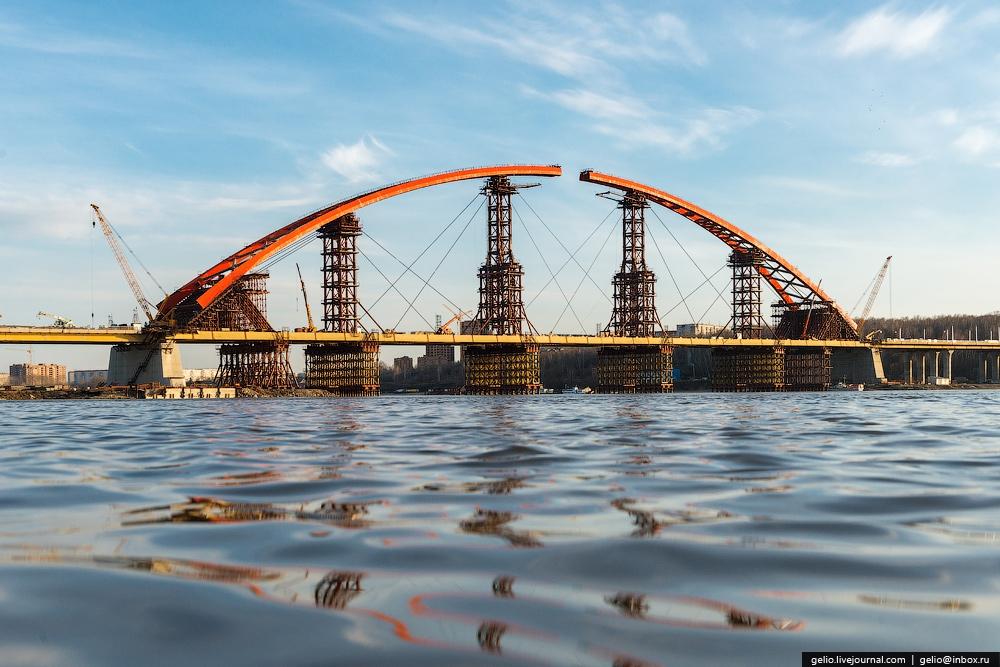 строящийся мост картинка технологии