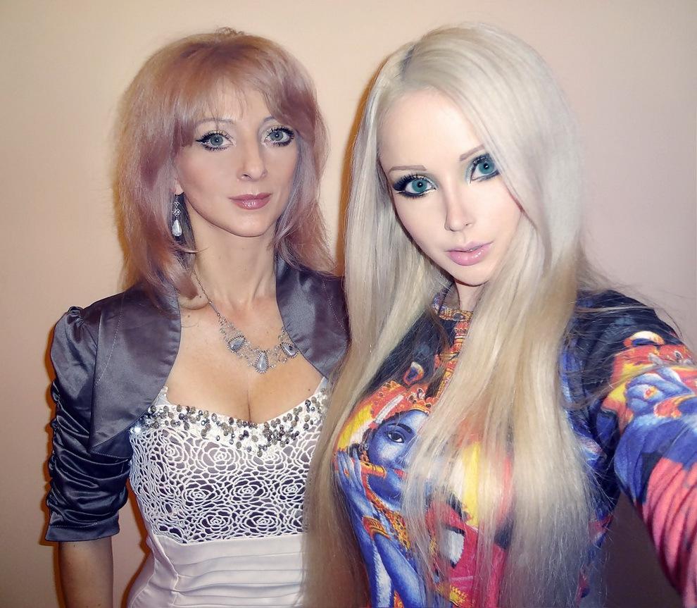 "Живая ""Барби"" Валерия Лукьянова"