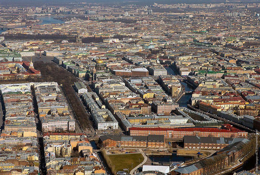 фото санкт петербурга с высоты птичьего полета фото редко