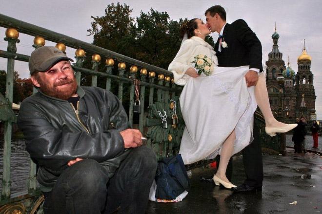 Типичные фото на свадьбе