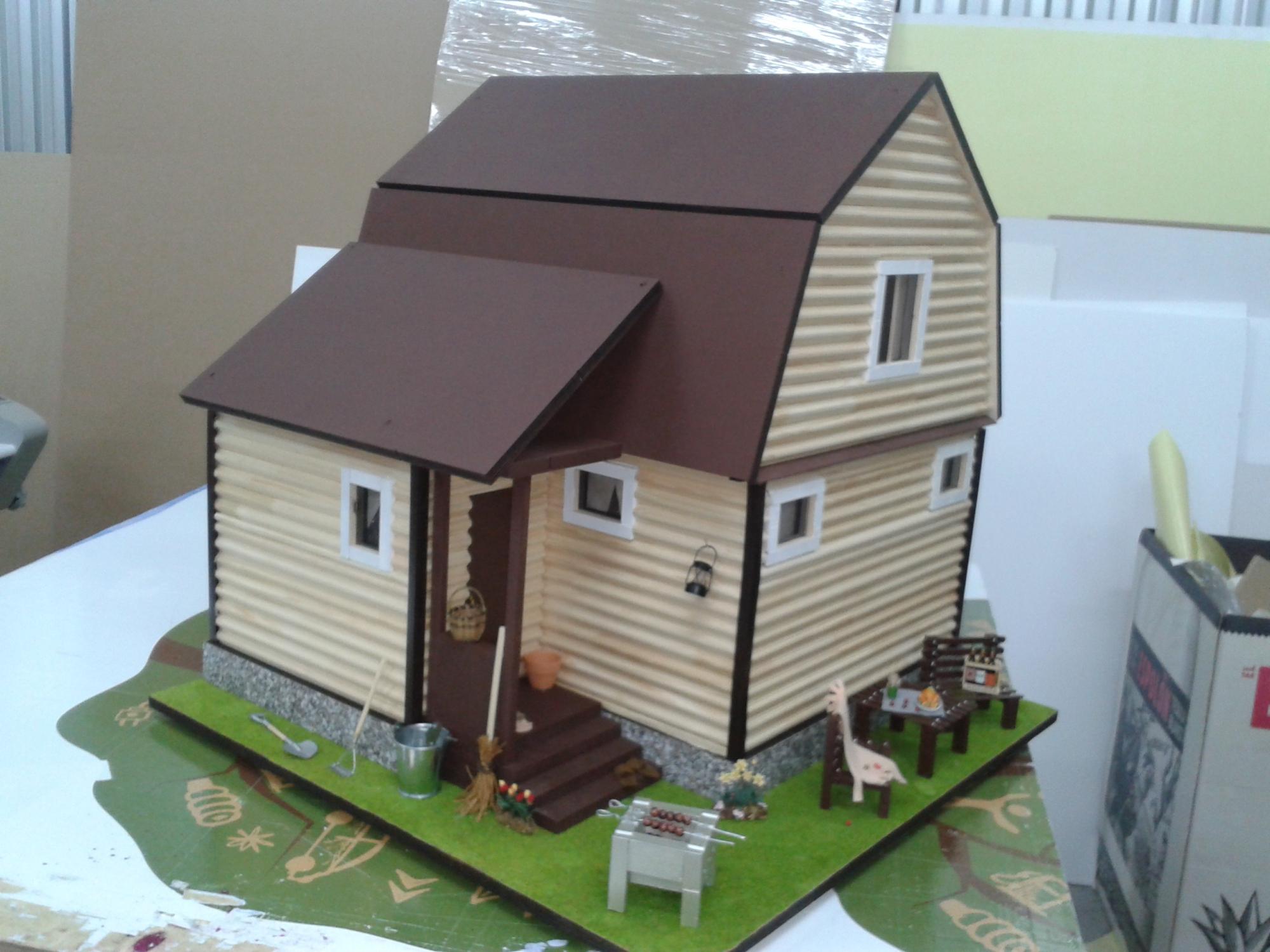 Макеты домов сделать своими руками