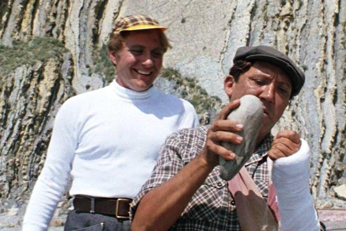Где рыбачили в бриллиантовой руке