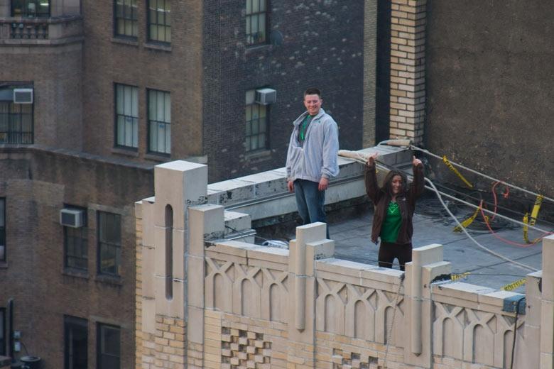 Видео секс на крыше платно часто