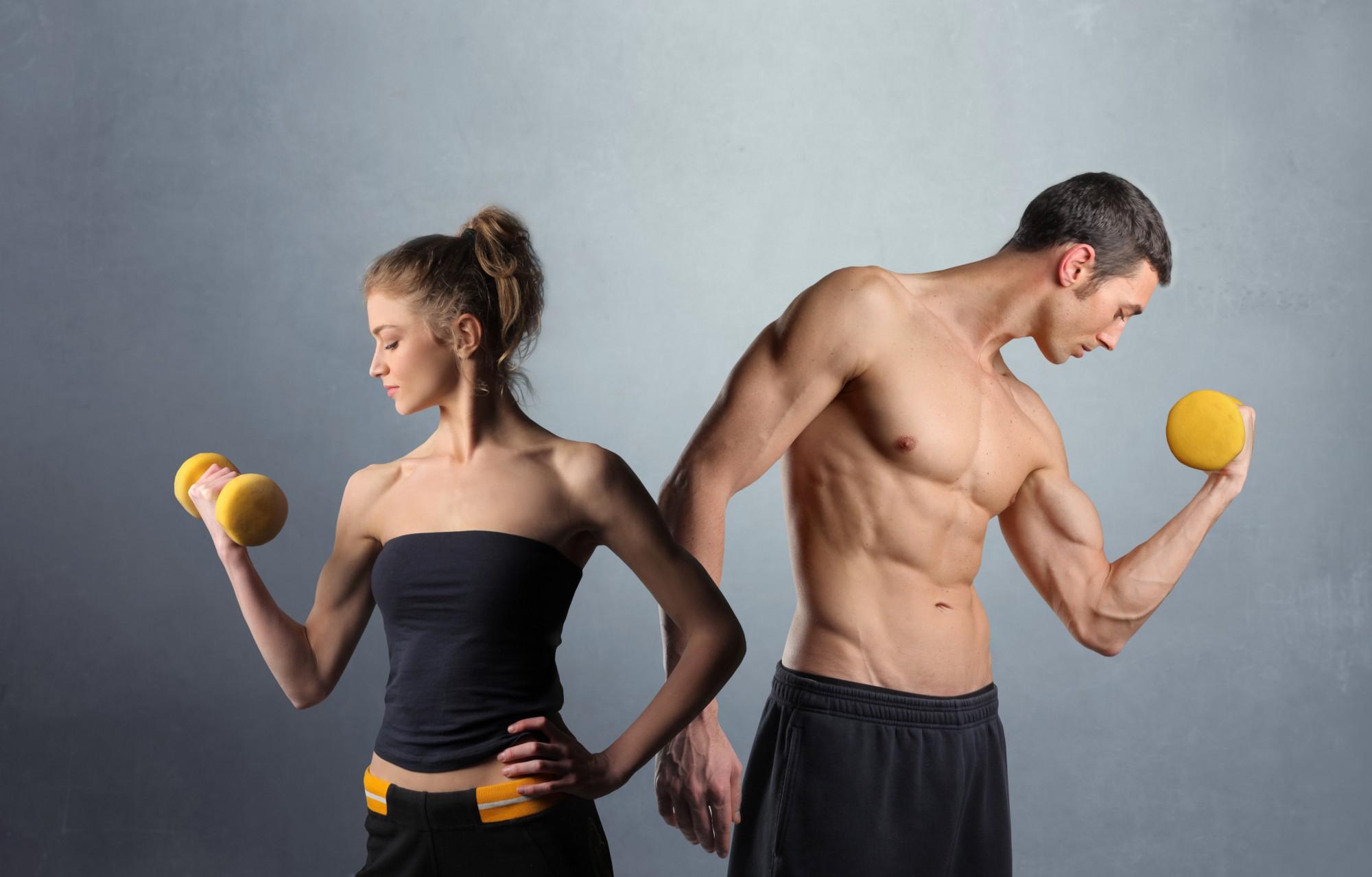 7 способов качать мускулы на ходу здоровье, мышцы, полезные советы