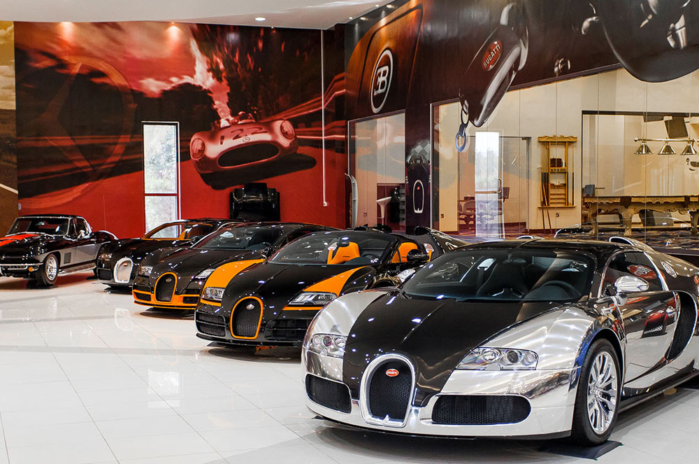 SBH Royal Auto Gallery - гараж мечты