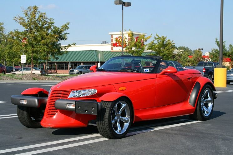 Plymouth Prowler- хот род с завода