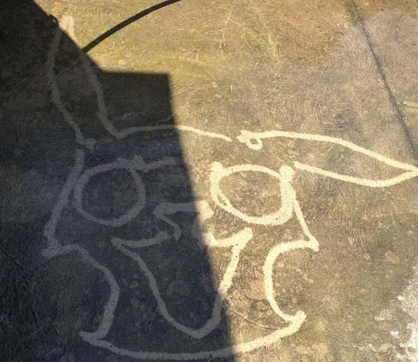 Как рисовать на бетоне