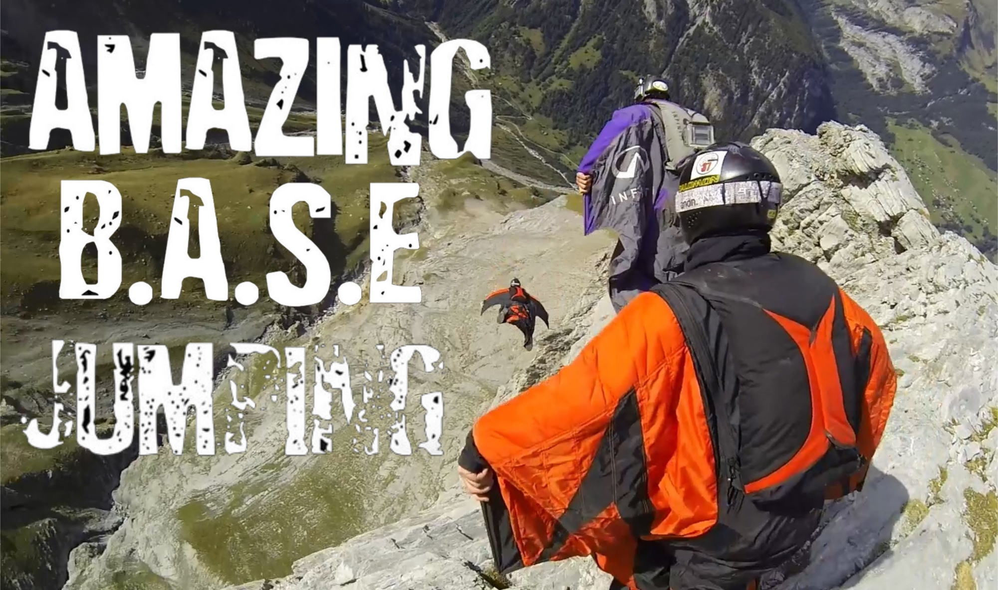 Amazing B.A.S.E. Jumping
