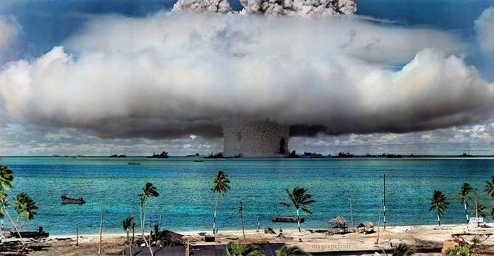 Картинки по запросу Атолл Бикини на Маршалловых островах